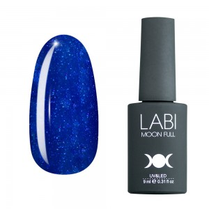 Гель-лак для ногтей Labi Glitter №G18 сверкающий кобальт