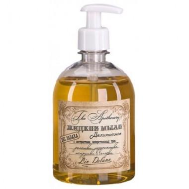 Рідке мило делікатне без запаху з екстратом лікарських трав ромашки, подорожника, петрушки і солодки The Apothecary
