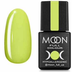 Гель-лак MOON FULL Neon color Gel polish №703 лимонний