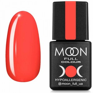 Гель-лак MOON FULL Neon color Gel polish №706 кораловий