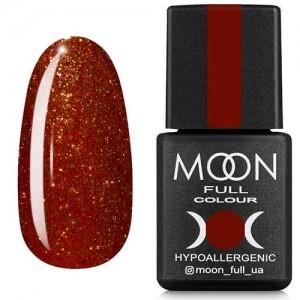 Гель-лак Moon Full Diamond №17 мідно-рудий шиммер