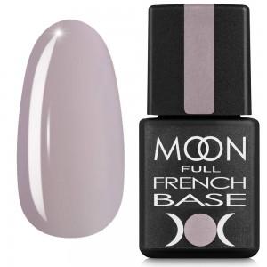 Гель-лак MOON Full Baza French 8 мл №12 бежево-серый
