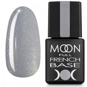 Заказать Гель-лак MOON Full Baza French 8 мл №14 серый с шиммером недорого