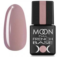 Гель-лак Full MOON Baza French 8 мл №16 рожевий з дрібним шимером