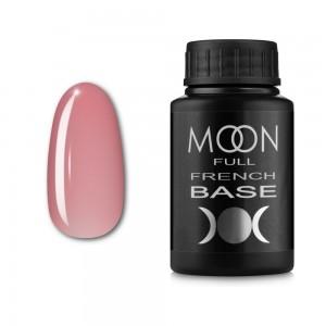 Гель-лак MOON Full Baza French 30 мл №01 світло-рожевий