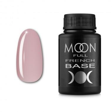 Гель-лак MOON Full Baza French 30 мл №05 ніжно-рожевий