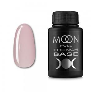 Заказать Гель-лак MOON Full Baza French 30 мл №06 бело-розовый выгодно