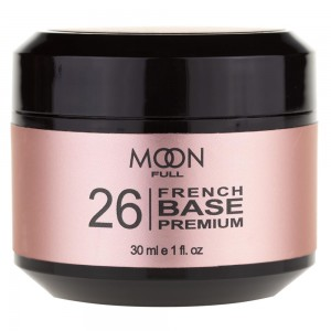 Заказать MOON FULL Baza French Premium 30 мл №26 рожевий темний недорого