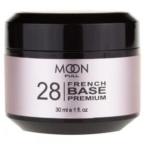 Заказать MOON FULL Baza French Premium 30 мл №28 ніжно-бузковий недорого