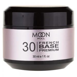 Заказать MOON FULL Baza French Premium 30 мл №30 біло-рожевий недорого