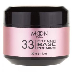 Заказать MOON FULL Baza French Premium 30 мл №33 рожево-бежевий недорого