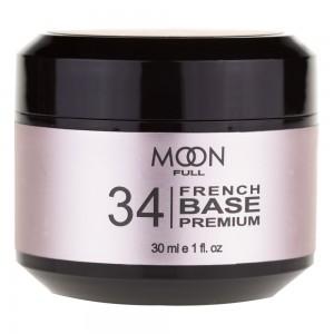 Заказать MOON FULL Baza French Premium 30 мл №34 біло-бежевий світлий недорого