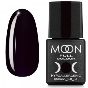 Гель-лак MOON FULL color Gel polish №669 темний баклажан