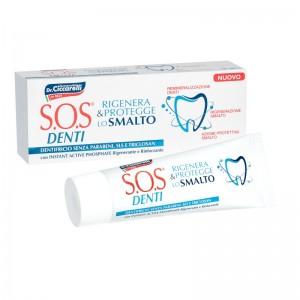 Зубна паста SOS Denti Enamel repair Відновлення і зміцнення зубної емалі Pasta del Capitano