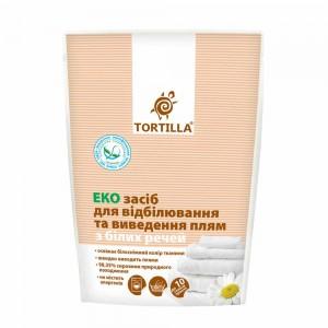 Заказать Еко засіб для відбілювання та виведення плям з білих речей Tortilla недорого