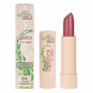 Помада Vegan Natural №04 темний рожевий
