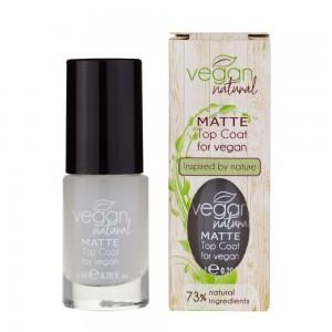 Заказать Матовий Топ для нігтів Vegan Natural недорого