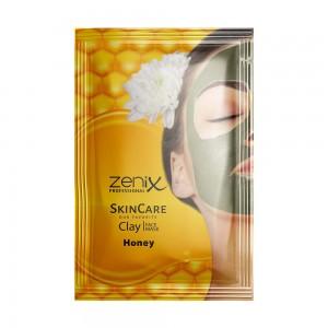 Маска для обличчя глиняна з медом сашет Zenix 20 г