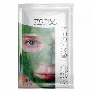 Киснева маска для обличчя Zenix з Алое Віра сашет 10 мл