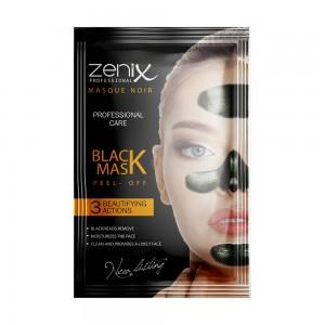 Маска-плёнка пилинг Zenix с активированным углём саше 15г