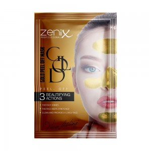 Заказать Плёночная маска-пилинг Zenix Золотая саше 15г недорого