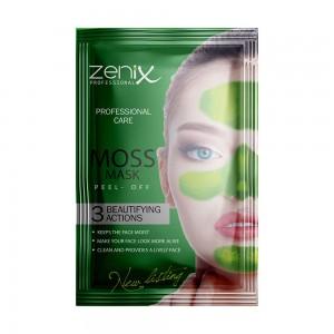 Маска-плівка пілінг Zenix з екстрактом Моху саше 15г