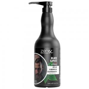 Шампунь для чоловіків Zenix Prof проти випадіння волосся з Чорним Часником