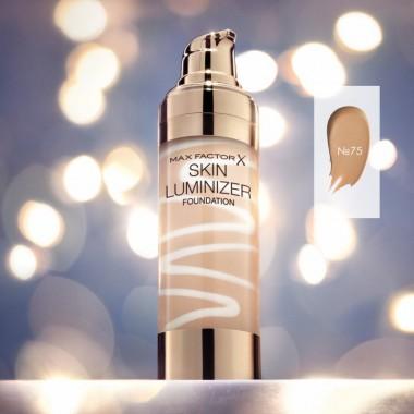 Тональная основа Skin Luminizer № 75, загар, Max Factor