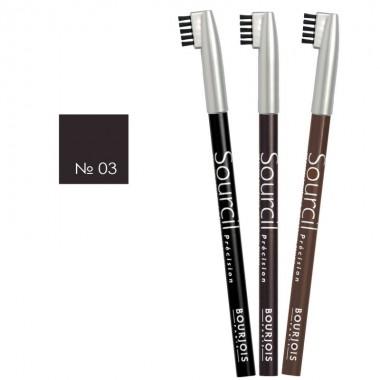 Олівець для брів Eyebrow Pencil №03 коричневий, Bourjois